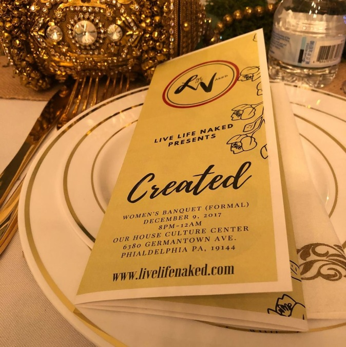 Live Life Naked Presents: Created December 9, 2017